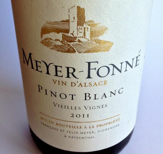 Meyer-Fonné Alsace Pinot Blanc Vieilles Vignes 2011