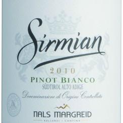 Nals Margreid Alto Adige Pinot Bianco Sirmian 2012