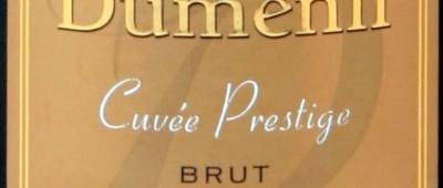 Champagne Duménil Brut Vieilles Vignes Cuvée Prestige etykieta 1