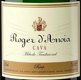 Roger d'Anoia Cava Brut etykieta