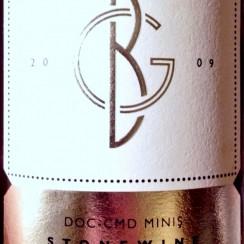Wine Princess : Balle Géza Miniș Stonewine Cadarcă 2009 etykieta