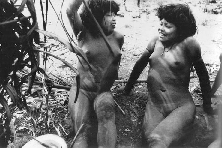 Порно фото ретро племен мира