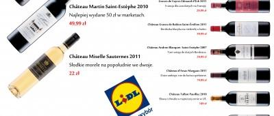 Lidl – wina z Francji – maj 2014 infografika