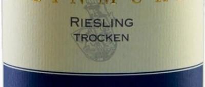 Steinmühle Osthofener Riesling trocken 2012 etykieta