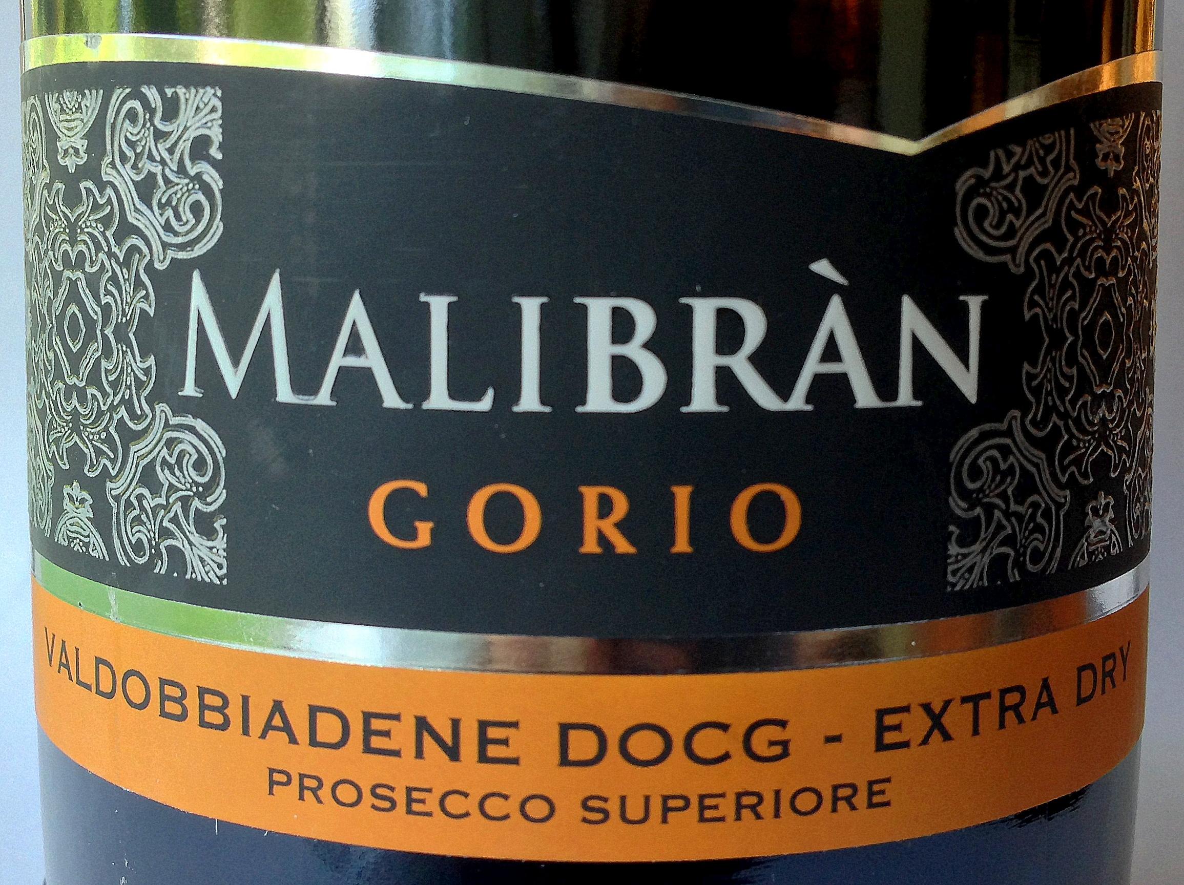 Malibràn Prosecco DOCG Superiore Extra dry Gorio 2013