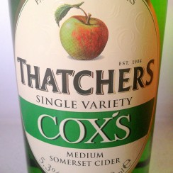 Thatchers Cox's Single Variety Medium Somerset Cider