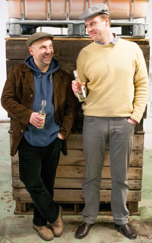 Tomasz Porowski i Marcin Hermanowicz. © Justyna Rodowicz.