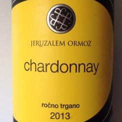 Jeruzalem Ormoz Stajerska Slovenija Chardonnay 2013
