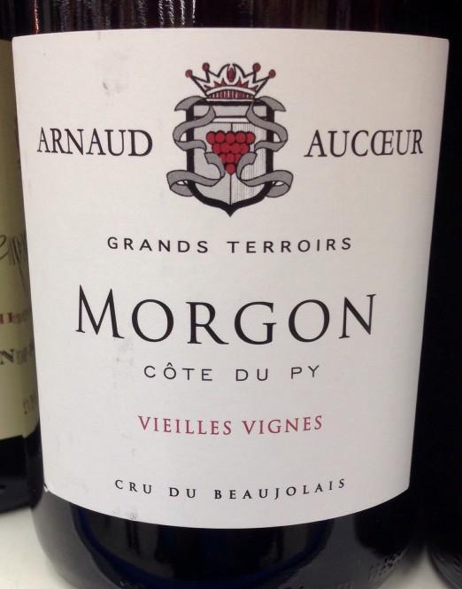 Arnaud Aucœur Morgon Côte du Py 2013