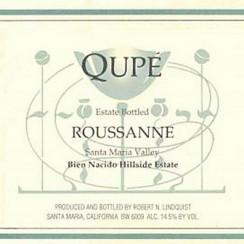 Roussanne od Qupé to już wino kultowe.