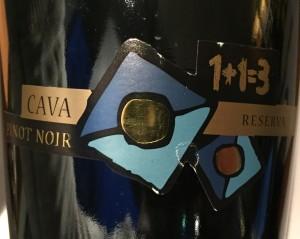 1+1=3 Cava Pinot Noir
