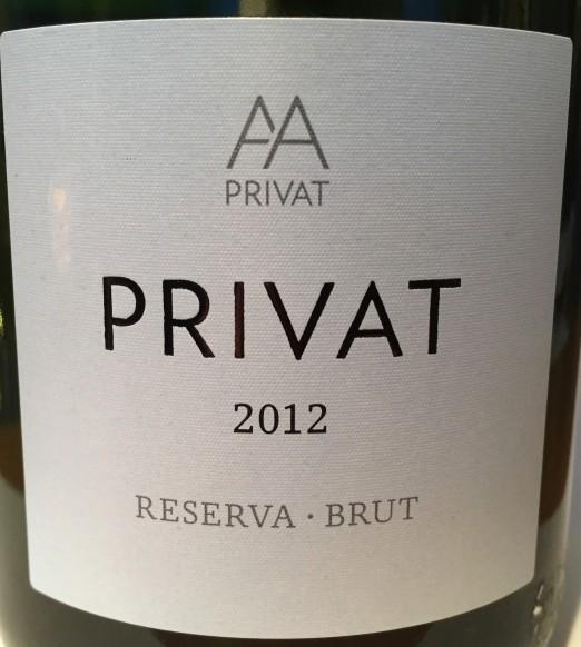 Alta Alella Cava Brut Reserva Privat 2012