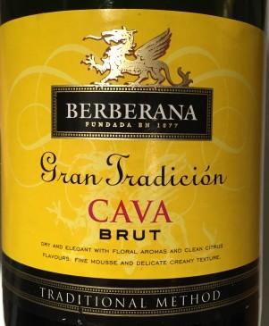 Berberana Cava Gran Tradición Brut