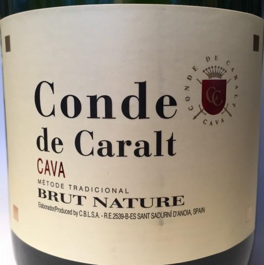 Conde de Caralt Cava Brut Nature