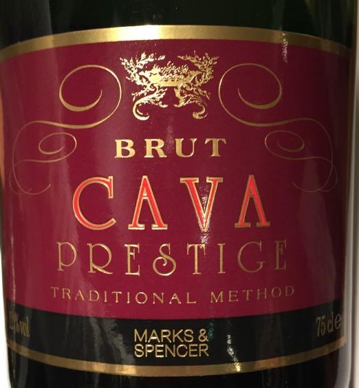 Marks & Spencer Cava Brut Prestige
