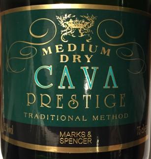 Marks & Spencer Cava Medium dry Prestige