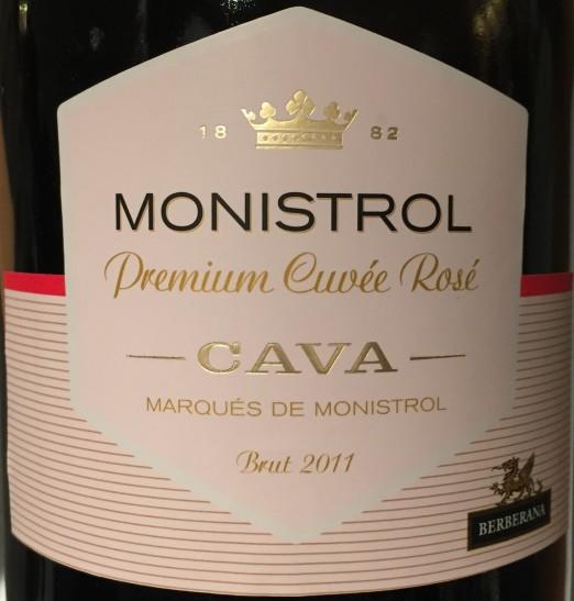Marques de Monistrol Cava Premium Cuvee Rose