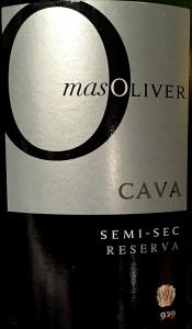 Mas Oliver Cava semi sec Reserva