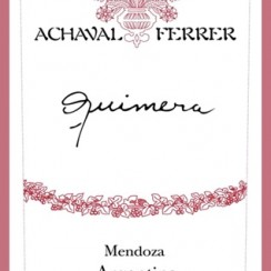 Achaval Ferrer Quimera NV etykieta