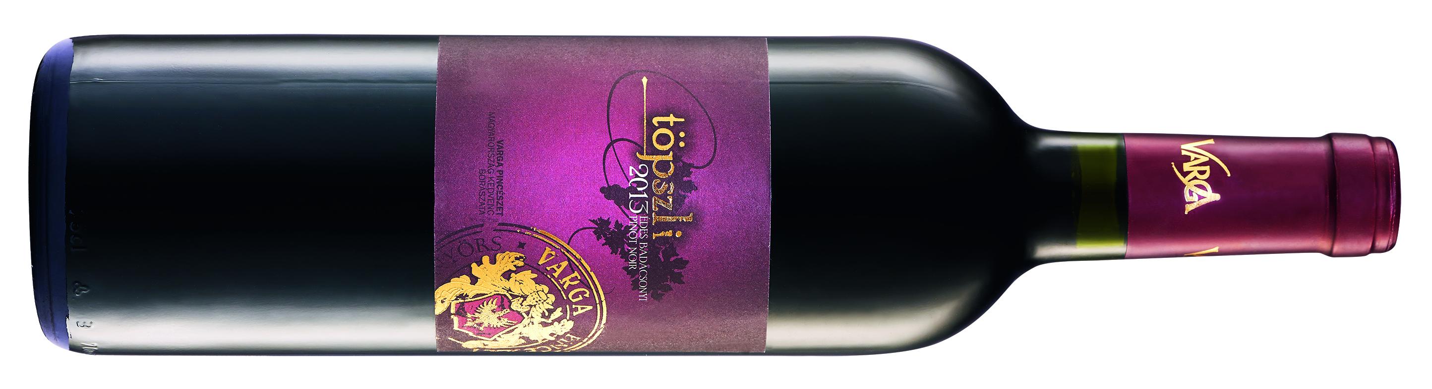 Varga Balatoni Pinot Noir sweet Töpszli 2013