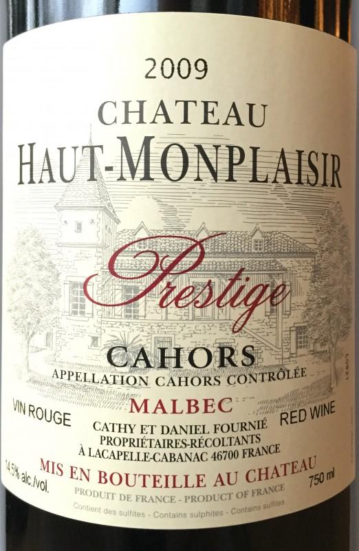 Ch. Haut-Monplaisir Prestige