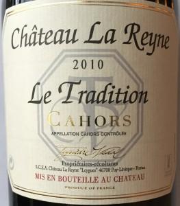 Ch. La Reyne Le Tradition