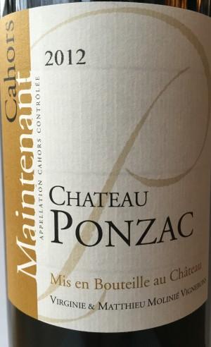 Château Ponzac Maintenant
