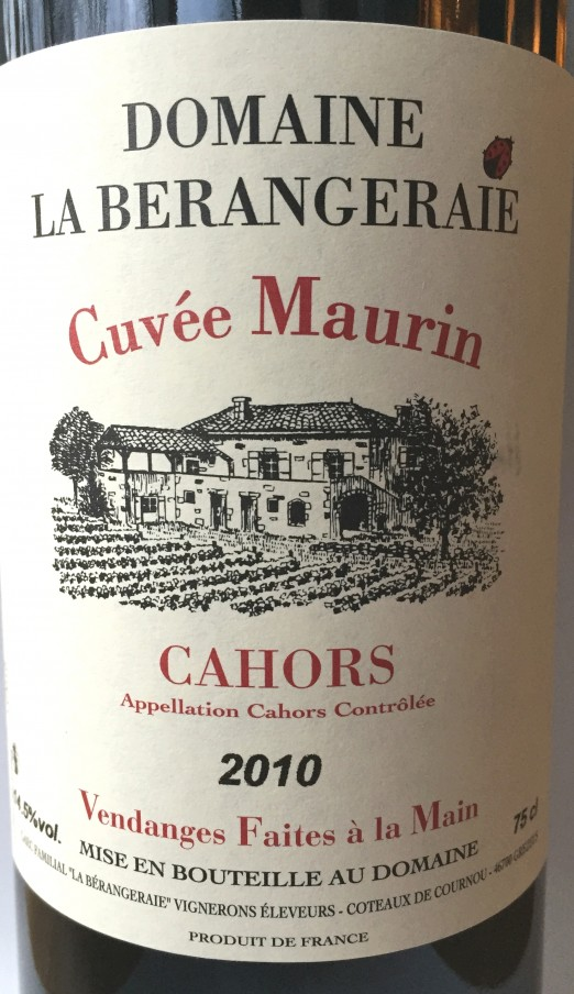Domaine La Berangeraie Cuvée Maurin
