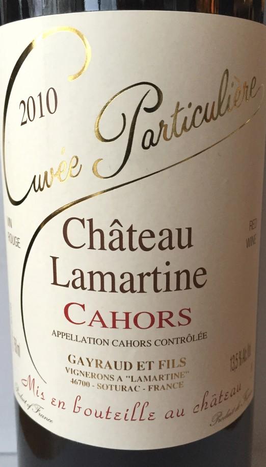 Château Lamartine Cuvée Particuliere