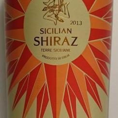 Sicilian Shiraz 2013
