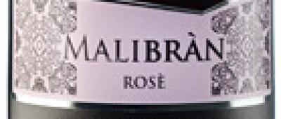 Malibràn Rose Spumante Extra-dry-etykieta
