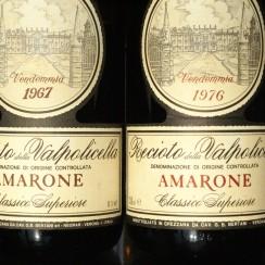 Bertani Amarone 1976 and 1967
