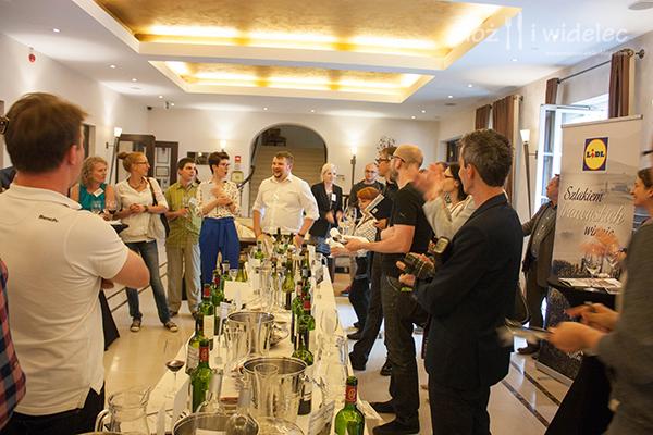 Sebastian Bazylak najlepszym degustatorem wśród blogerów. © Nóż i Widelec.