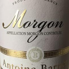 Antoine Barrier Morgon 2013