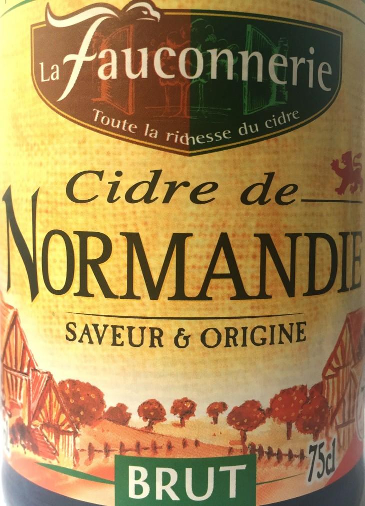 La Fauconnerie Cidre de Normandie Brut