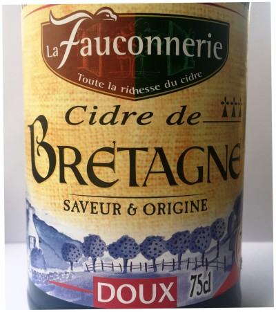 La Fauconnerie Cidre de Normandie Doux