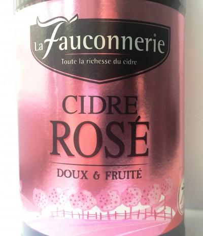 La Fauconnerie Cidre de Normandie Rose