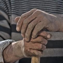 "Manos Negras czyli ""Czarne Ręce"" © Manos Negras"