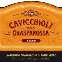 Cavicchioli Lambrusco Grasparossa di Castelvetro secco