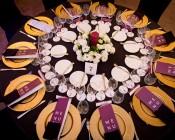 Somm & Chef Dinner '15 Gala Winicjatywy stół