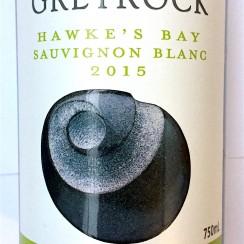 Greyrock Hawkes Bay Sauvignon Blanc 2015