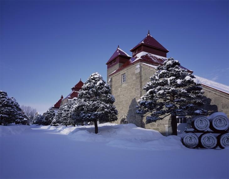 Gorzelnia Yoichi na wyspie Hokkaido. © Nikka.