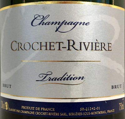 Crochet Riviere Champagne Brut Tradition ikona