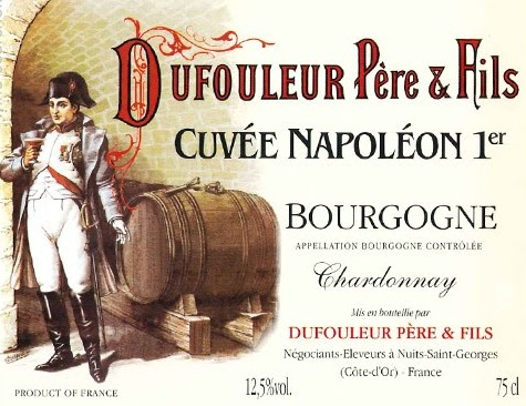 Napoleon też wrzucił swoje 5 groszy do burgundzkich winnic.