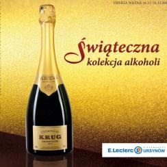 Leclerc Świąteczna kolekcja alkoholi 2015