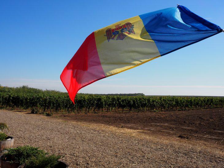 Włoski styl, mołdawska flaga. © Izabela Kamińska