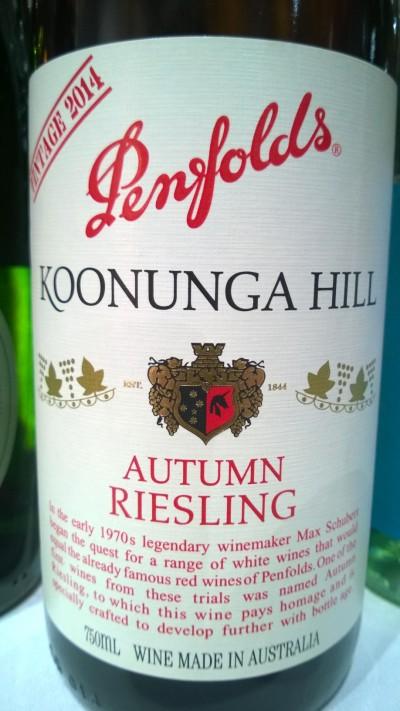 Penfolds Koonunga Hill Riesling