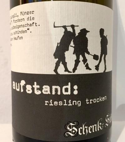 Schenk Siebert Riesling Aufstand trocken