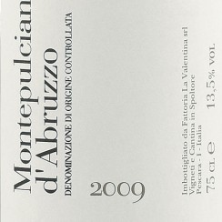 La-Valentina-Montepulciano-D_27abruzzo-2009-Label