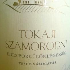 Tesco Finest Tokaji Szamorodni édes 2011